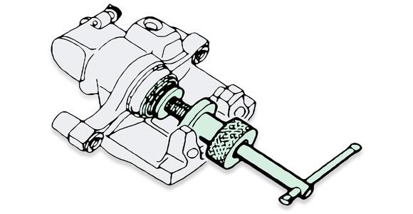 rear brake replacement - renault megane ii
