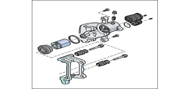 vw passat - rear brake replacement