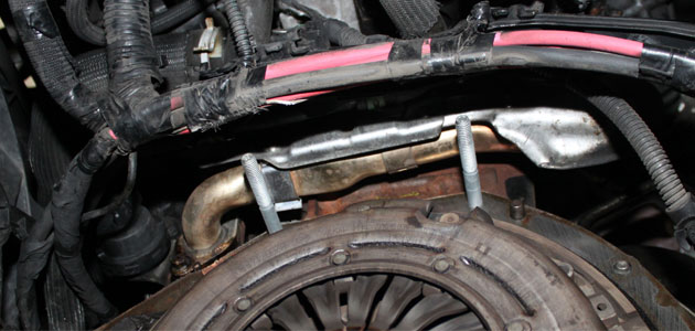 How to change a clutch on a Vauxhall Vivaro