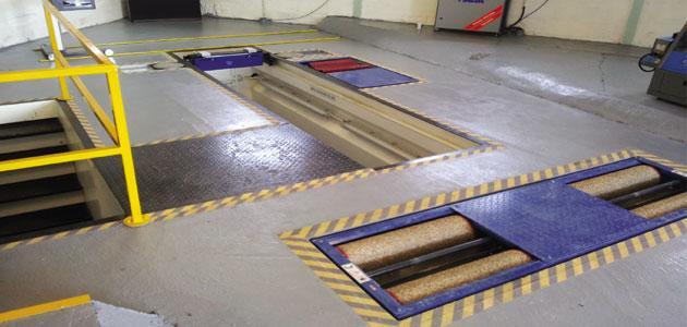 MOT test lane installation – a garage case study