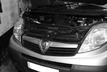 How to change a clutch on a Vauxhall Vivaro