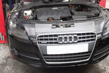 How to change a clutch on a Audi TT