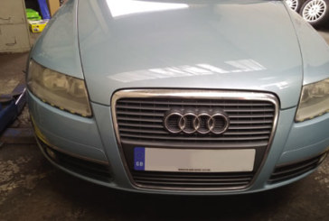 How to change a clutch on a Audi A6