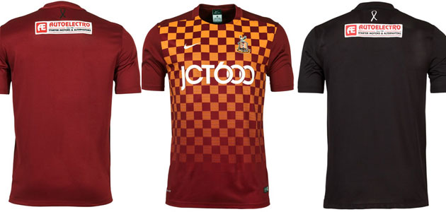 Autoelectro renews shirt sponsorship deal with Bradford City