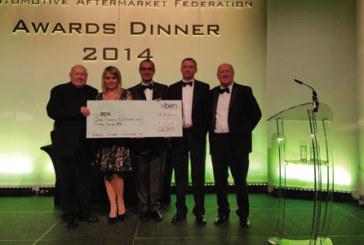 OESAA raises over £1,500 for BEN