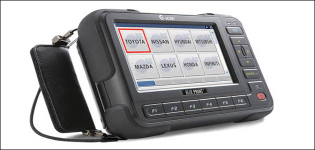 Blue Print - G-Scan diagnostic tool