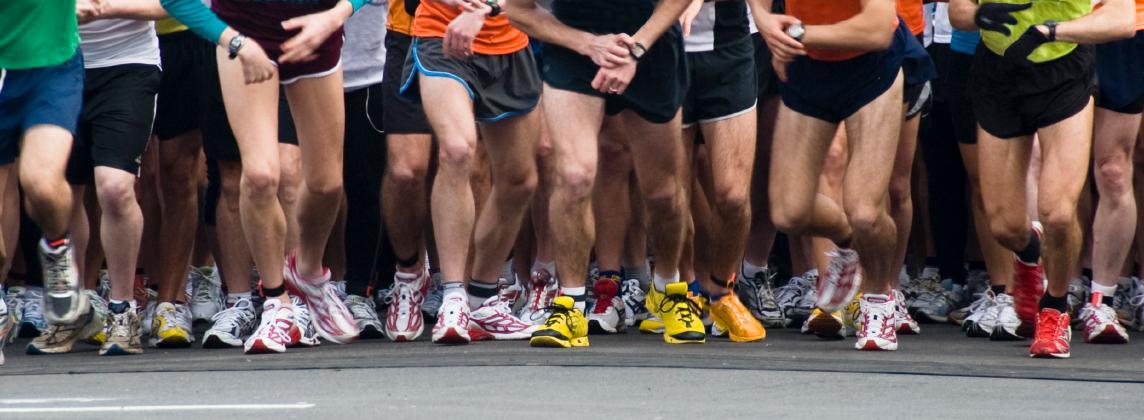 Marathon effort by BEN runners