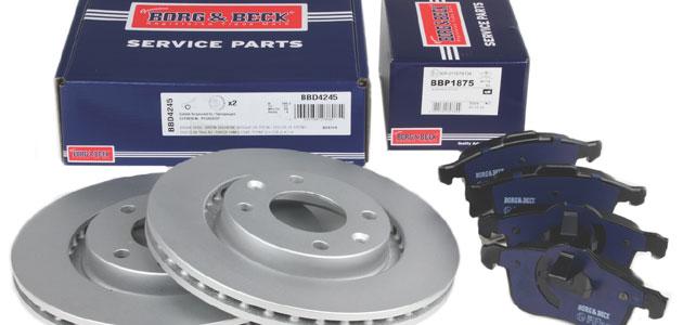 First Line – Borg & Beck Fully coated brake discs