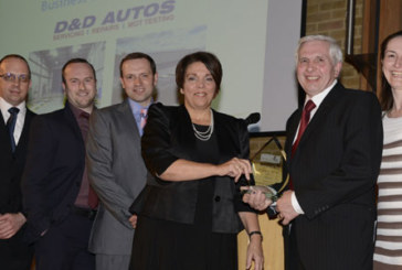 D&D Autos collects top honours at prestigious business awards