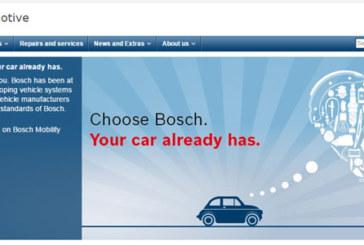 Bosch – Revamped parts and workshop websites