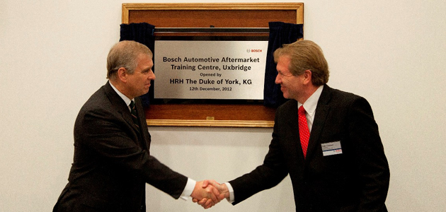 Royal appointment for Bosch STC