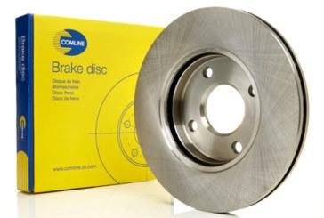 Comline – Brake disc range additions