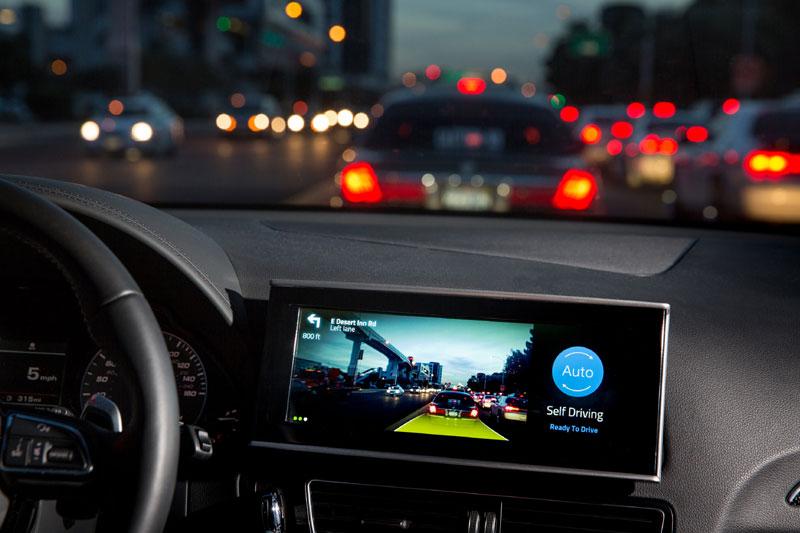 Delphi looks at how autonomous cars communicate