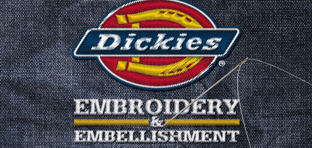 Dickies launches workwear embroidery service