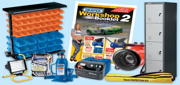 Draper Tools - Workshop booklet