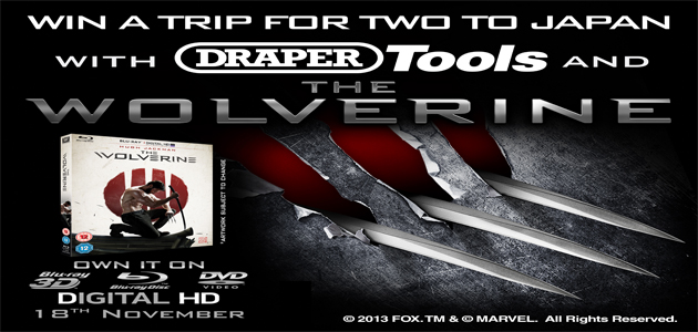Draper Tools team up with Twentieth Century Fox to offer trip to Japan