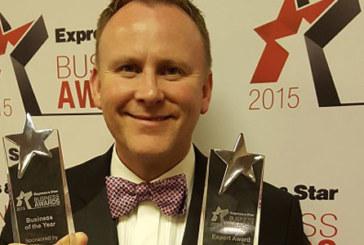 Exol wins highest accolade at Express & Star Business Awards 2015