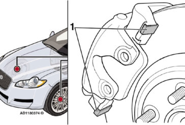 How to fix a front brake squeal problem on a Jaguar XF