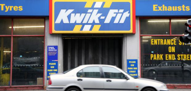Kwik-Fit accused of 'ripping off' customers