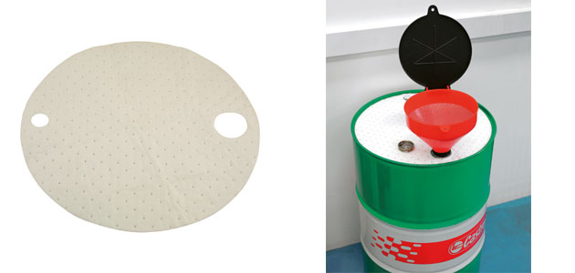 Laser Tools – Oil Absorbent Drum Top Mats