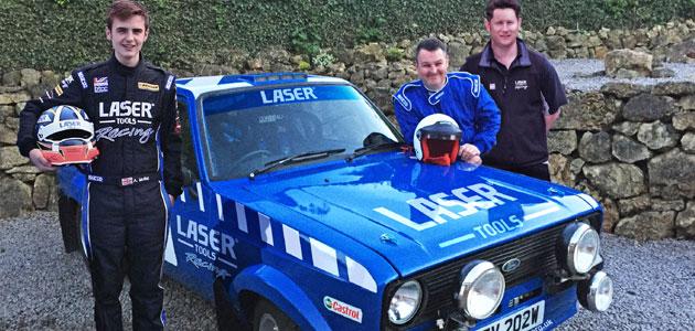 Laser Tools Racing prepares for McRae Rally Challenge