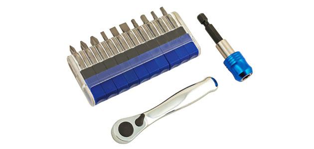 Laser Tools – Ratchet and bit set