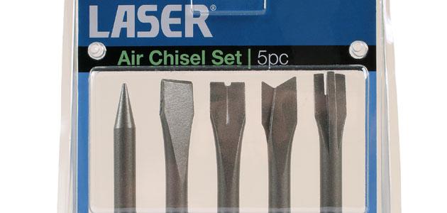 Laser Tools – Five-piece air chisel set