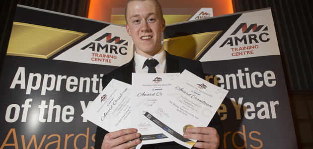 Sheffield-based employee named Apprentice of the Year