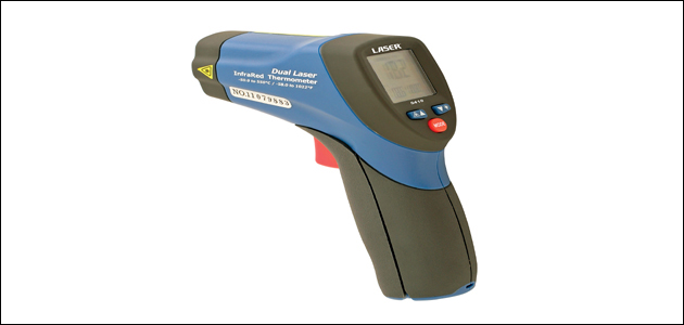 Laser Tools - Twin spot thermometer