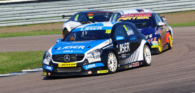 Laser Tools Racing signs up for 2016 BTCC