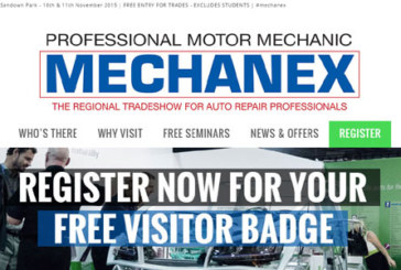 New MECHANEX website launches ahead of Sandown 2015