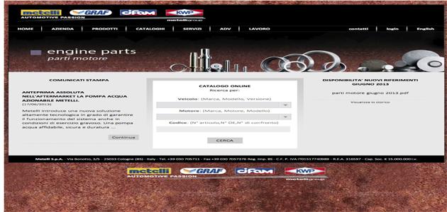 Metelli unveils new website