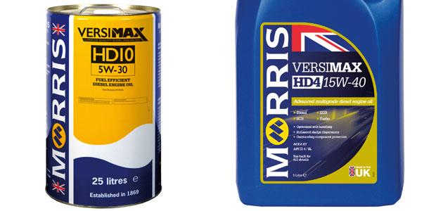 Morris Lubricants – Versimax Range