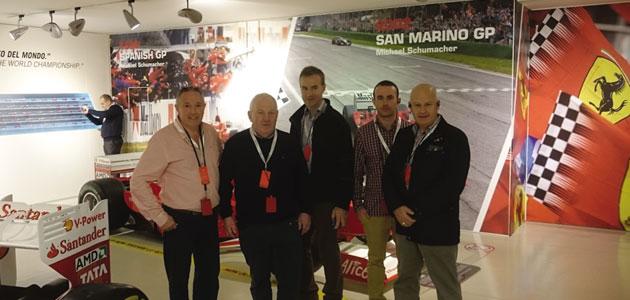 NGK customers visit Maranello