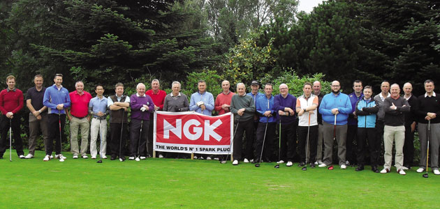 NGK hosts Northern Ireland Golf Day