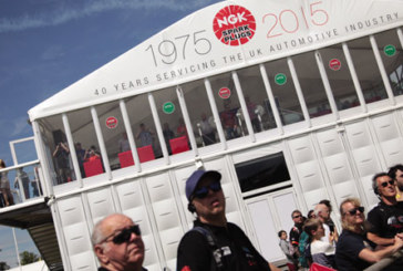 NGK proves popular at Goodwood