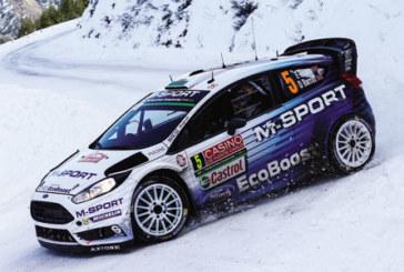 NGK-sponsored M-Sport team make strong start in WRC