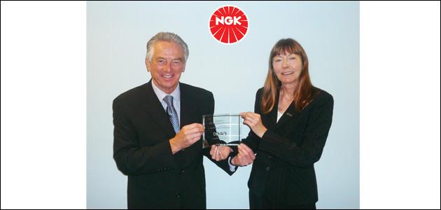 Fund-raising award for NGK Spark Plugs (UK)