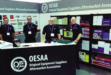 OESAA exhibiting at UK shows