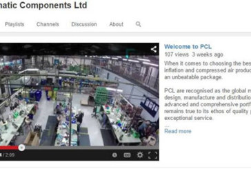 PCL's You Tube channel starts world-leading products in motion
