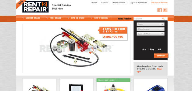 Tool rental service launched