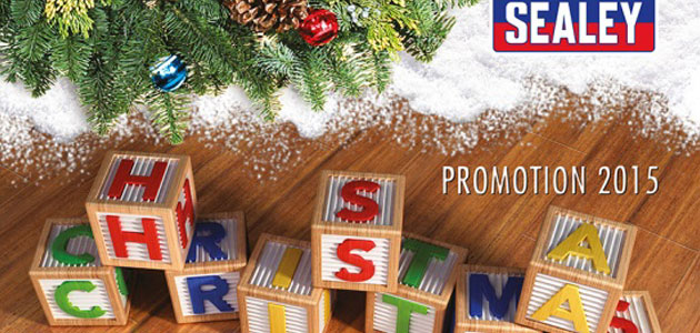 Sealey launches Christmas promotion