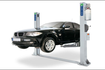 Trade Garage Equipment – Two-post hydraulic lift