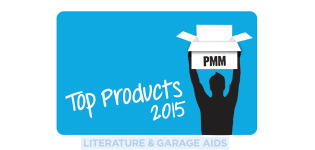 Top Products 2015 – Literature & Garage Aids