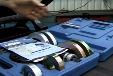 Laser Tools – Wheel hub bearing tool