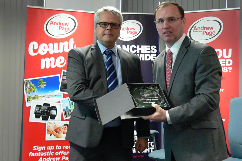 MANN+HUMMEL is 'Overall Best Supplier' at Andrew Page awards