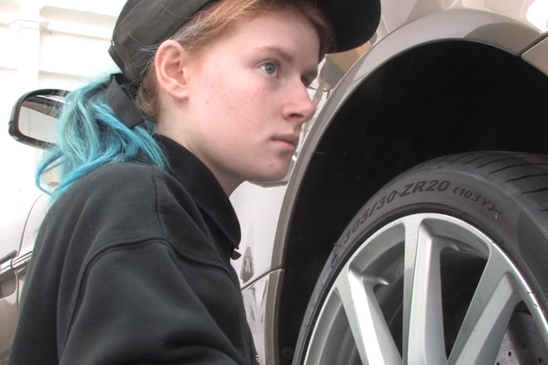 Aston Martin apprentices say young people should 'speak up for health and safety'