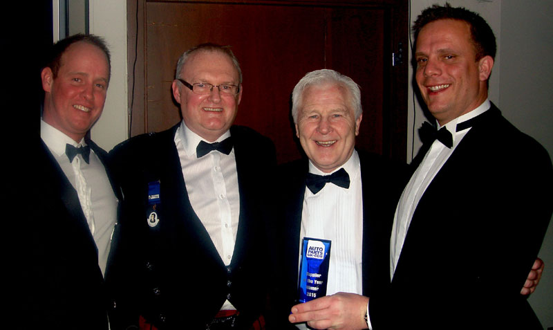 Sogefi wins Autoparts UK 'Supplier of the Year' award