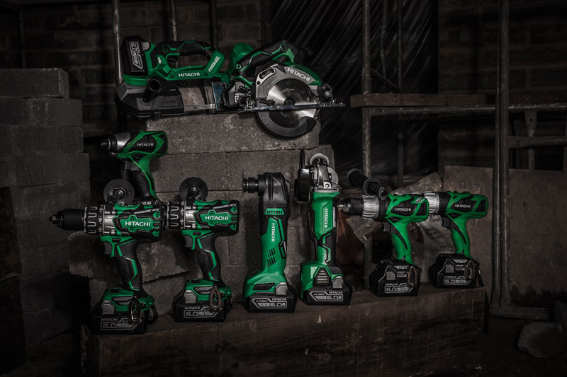 Hitachi Power Tools launches 6Ah Lithium-Ion battery