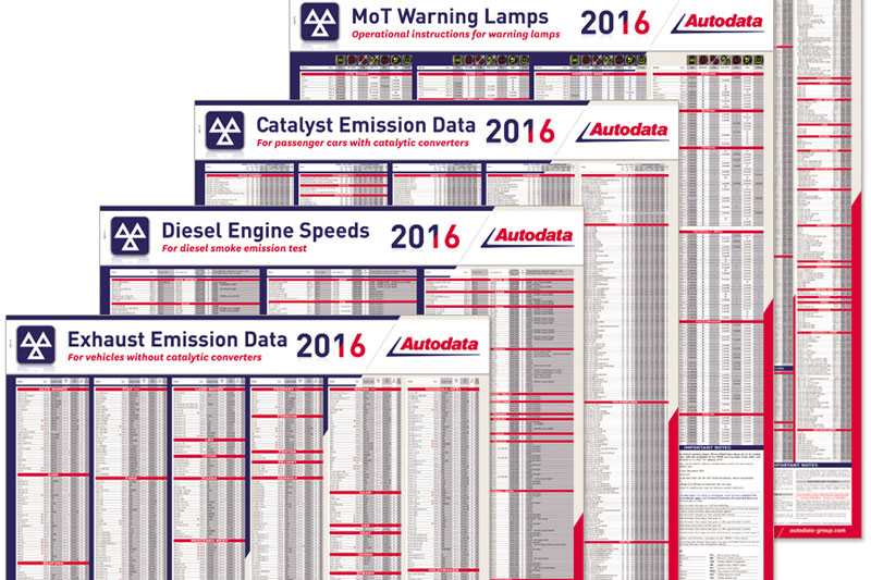 mot wall chart promotion professional motor mechanic